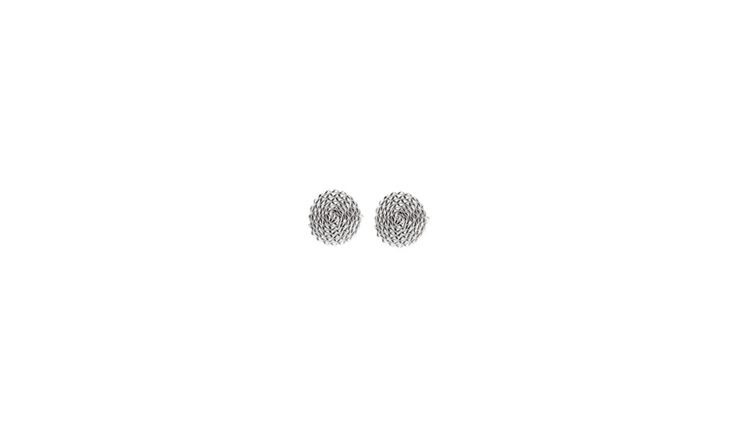 Liliana Guerreiro | Colecções - Handmade silver earring, with an ancient filigree technique, mesh