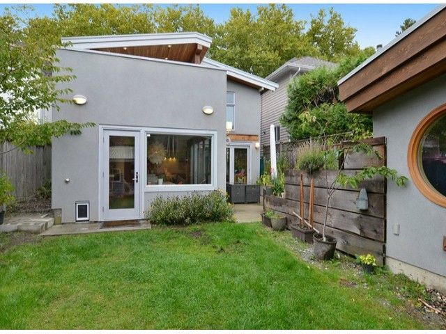 Best Vancouver Special Renovations Images On Pinterest - Modern house backyard