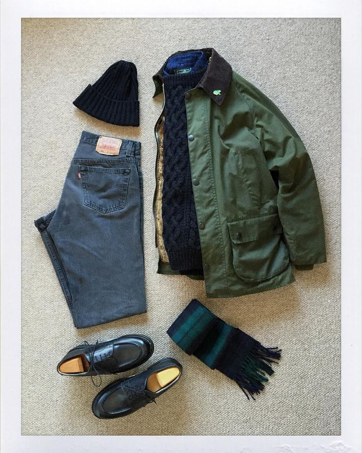 Today's Outfit. #Barbour #Bedale Oiled Jacket #Inverallan 1H Wool Aran Sweater #GitmanVintage Indigo Denim BD-Shirt #BeamsPlus Wool Knit Cap #Johnstons Cashmere Scarf 80's #Levis #501 Black Denim Jeans #Paraboot Chambord #OutFitoftheDay #OutFitGrid #OOTD #DailyFashion #Cordinate #Vintage #Fashion #FashionPost #ファッション #コーディネート #バブアー #インバーアラン #ギットマンビンテージ #ジョンストンズ #リーバイス #パラブーツ by the.daily.obsessions