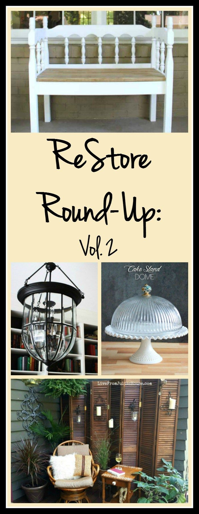 ReStore Round-Up: Vol. 2 - volume 2 of the ReStore Round-Up is here! This time around I'm featuring 20+ awesome upcycle ideas for your next ReStore treasure.
