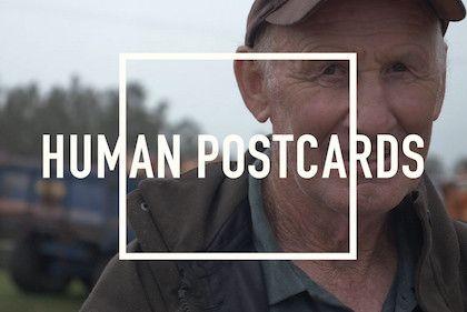 http://humanpostcards.com http://facebook.com/humanpostcards http://twitter.com/humanpostcards http://vimeo.com/humanpostcards
