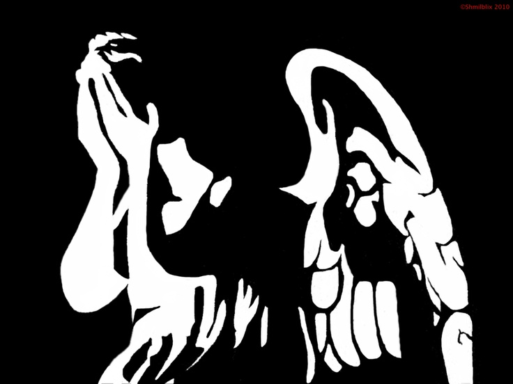 weeping angel stencil stencils and templates