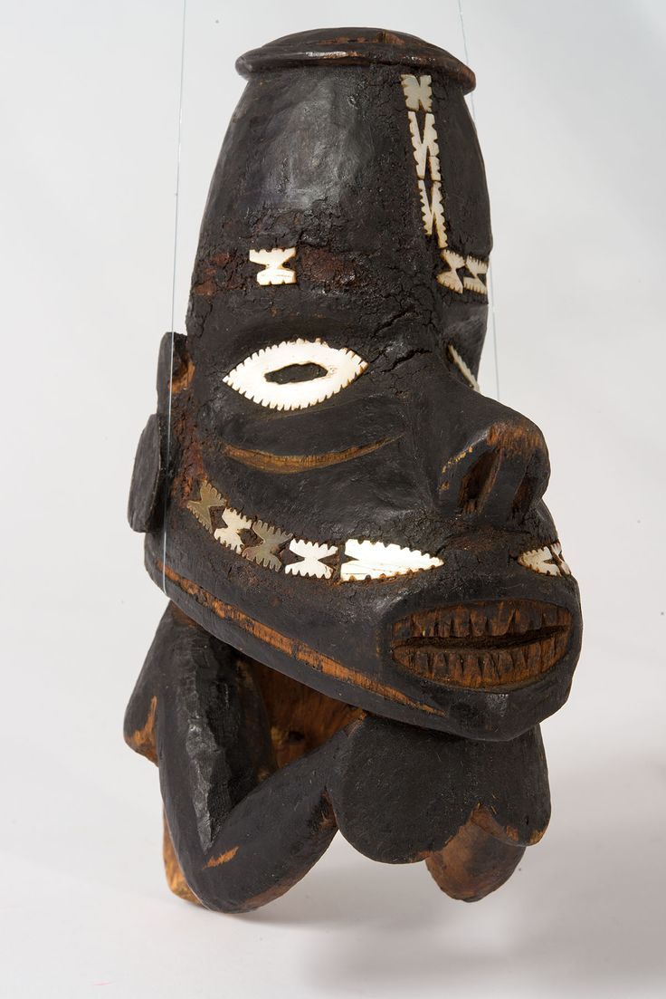 Canoe Prow. Solomon Islands. 1884. From the Queensland Museum Australia South Sea Islander Collection.