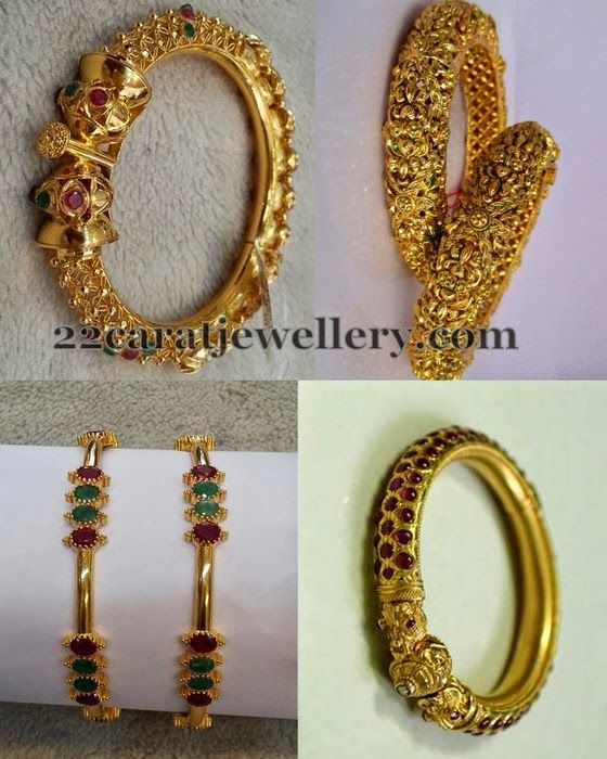 Jewellery Designs: Attractive Antique Bangles Gallery