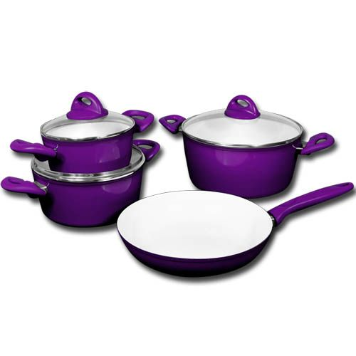 7tlg Michelino Kochtopf Set Topf Töpfe Topfset Deckel Induktion Keramik Pfanne   eBay