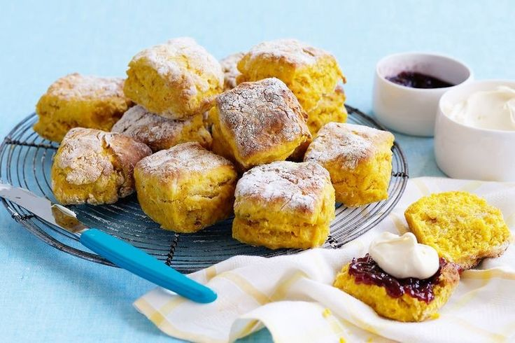 Two classic scone ingredients combine, in this pumpkin and lemonade recipe.