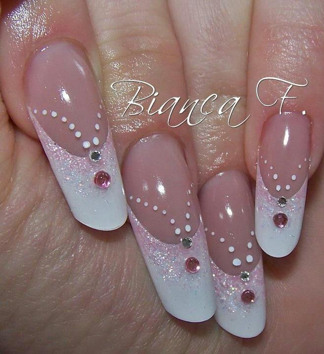 ༺♥༻ Nails Art De Novias༺♥༻