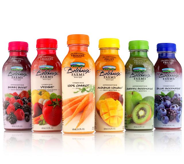 Bolthouse Farms Smoothies- so good for breakfast on the go!