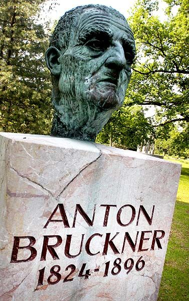 Anton Bruckner;- the greatest late-romantic composer.