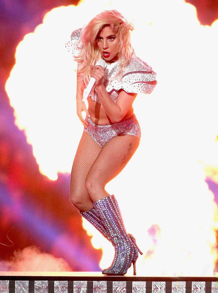 Lady Gaga at Super Bowl 51 #ladygaga #superbowl #superbowl51 #performance #halftimeshow
