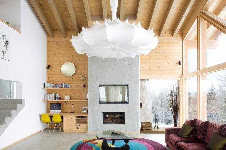 #excll #дизайнинтерьера #решения Открытые, светлые пространства. Как реакция на долгие холодные зимы без солнечного света дизайнеры начали создавать светлые просторные интерьеры. В домашних условиях должен быть максимальный комфорт со всем самым необходимым под рукой.