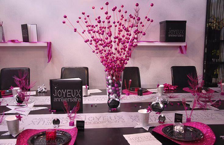 d co d 39 anniversaire marre du rose pour filles bleu pour mecs art d coration et tables. Black Bedroom Furniture Sets. Home Design Ideas