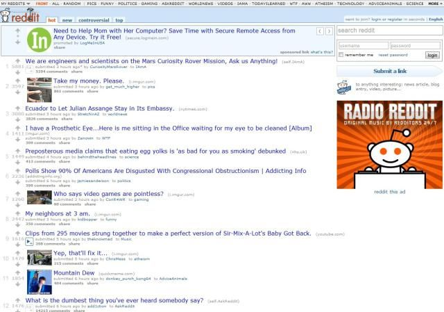 Top 5 Funny Sites To Read Every Day: Reddit