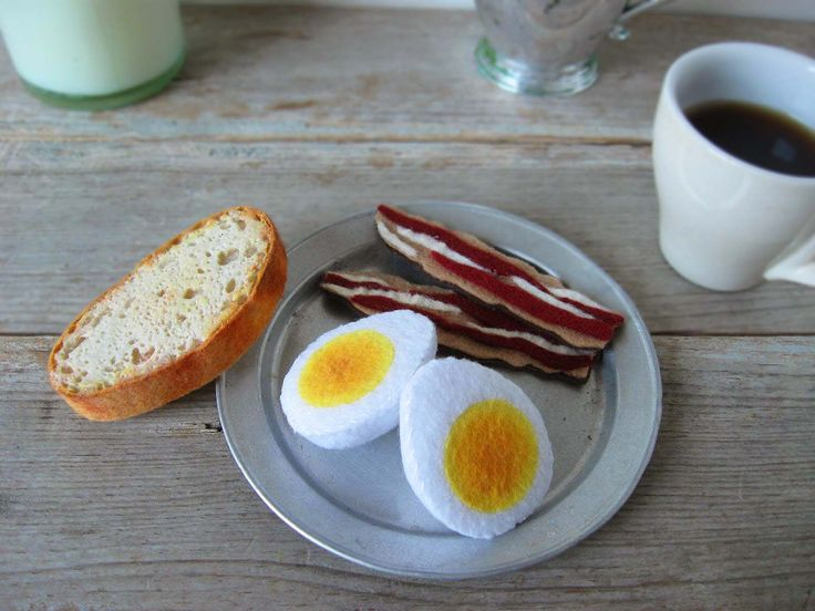 Felt Rustic Country Breakfast by milkfly on Etsy https://www.etsy.com/listing/113069432/felt-rustic-country-breakfast