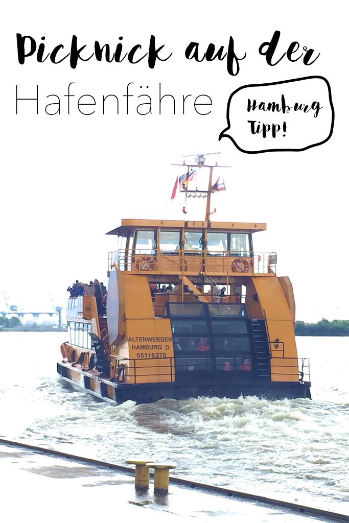 Hamburg-Tipp - Mit der Fähre nach Finkenwerder