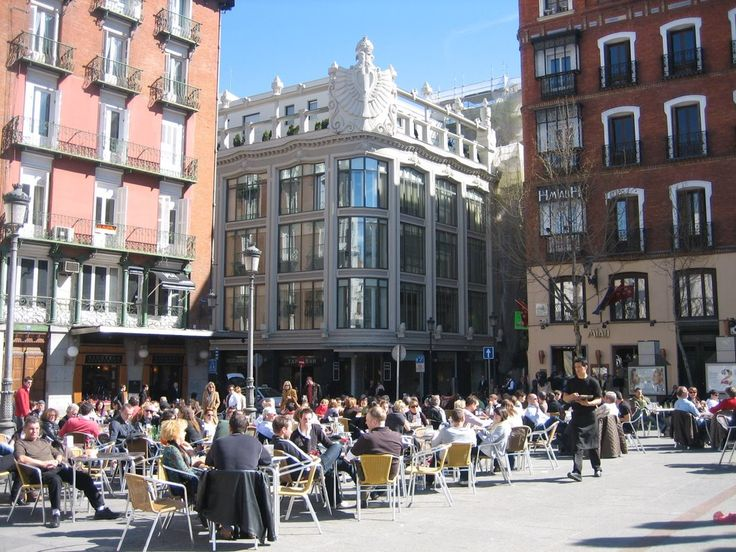 Plaza de Sant'Ana, Madrid, Spain
