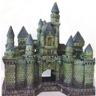 H 24 L 23Wizards Castle Aquarium Ornament Decoration