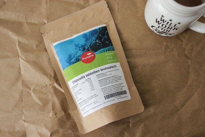 Chlorella tabletten | detox, lichaam ontgiften | ervaring