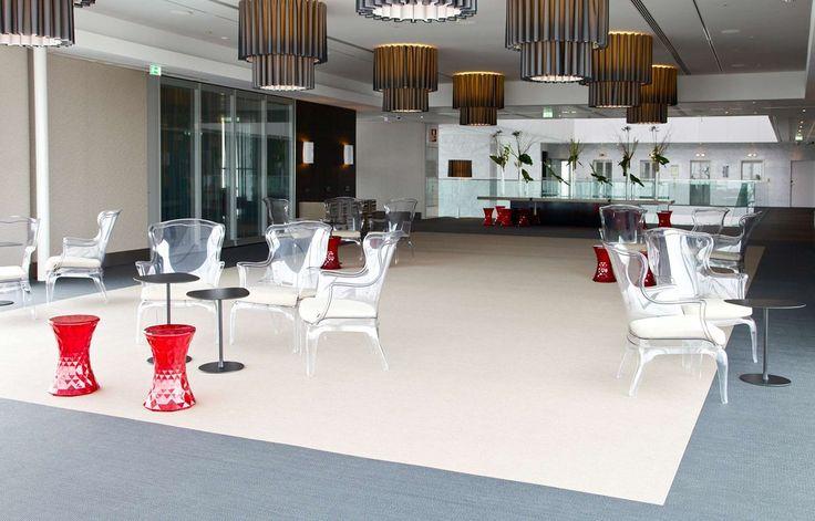 Bolon flooring in Hotel Myriad, Lisbon