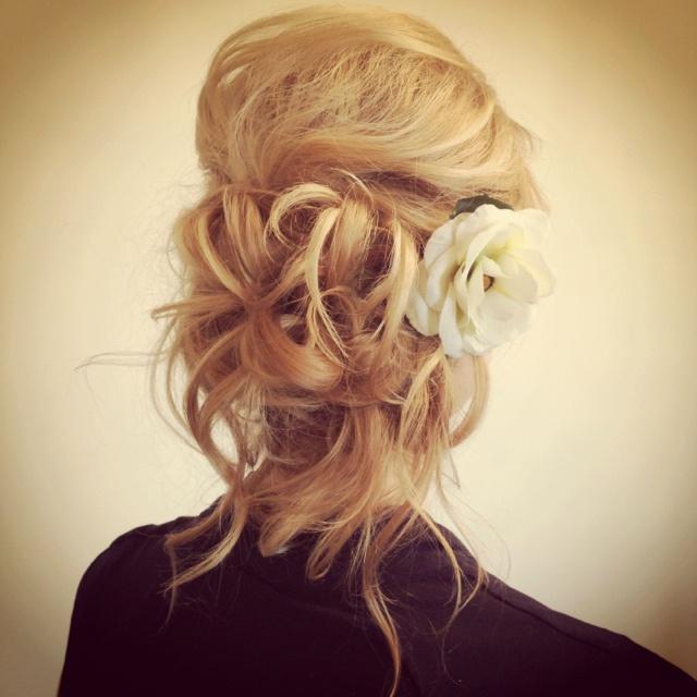 Beautiful Bride!  Hair by Beautiq
