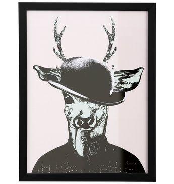 Home affaire gerahmter Kunstdruck »Reh in Spaziergang-Kleidung« Jetzt bestellen unter: https://moebel.ladendirekt.de/dekoration/bilder-und-rahmen/poster/?uid=8730161c-fef9-560f-9336-fef9291e457d&utm_source=pinterest&utm_medium=pin&utm_campaign=boards #bilder #rahmen #poster #dekoration