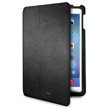 iPad Air Puro Ultra Slim Flip Läderfodral - Svart #iPadAir #UltraSlim