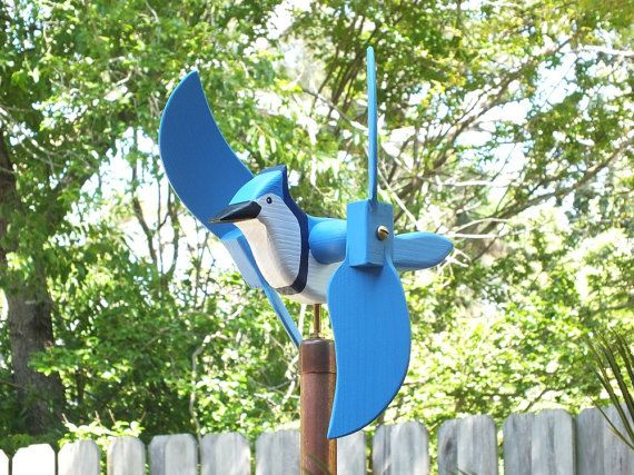 Our wind driven, folk-art Whirligigs (Twirlybirds) are all handmade. Crafted in the tradition of Old world Craftsmanship, and will provide enjoyment and amusement for all ages. Acting as a weather-vane, whirligigs indicate the intensity of the wind by the swiveling action of the wings, propeller, and figurines.  Our Whirligigs are made of solid Southern Cypress, hand-crafted and assembled in the USA with brass hardware, and finished with durable acrylic patio paint. Each whirligig includes…
