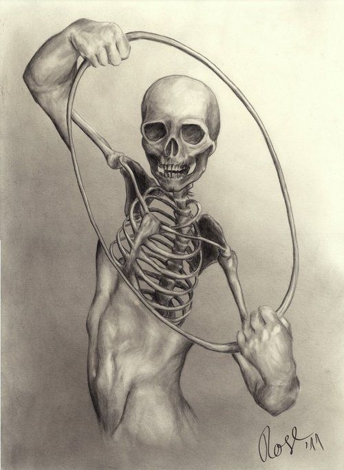 ☆ X-Ray drawing made by MrBonecracker :: The author's name is Alexander and he is from Germany ☆