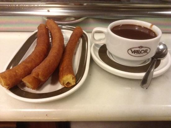 Churros at Cafe Valor!