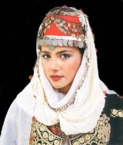 Turkish bride headpiece http://haveheartdaily.com
