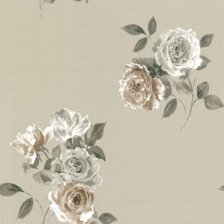 Next Vintage Floral Wallpaper Shabby Chic Flower Rose