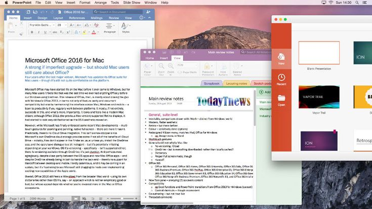 Microsoft has released a new version of its Office 2016 for Mac, introducing latest online features that move it closer in line with cloud-first Office 365