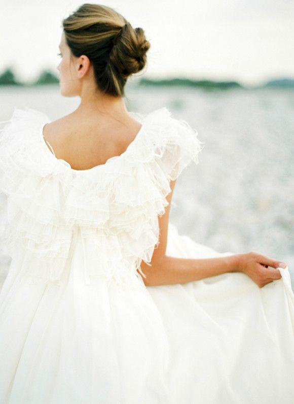 Modern and elegant wedding inspiration ~ Peaches & Mint
