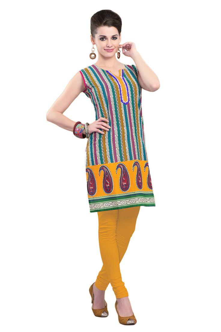 #Multicolor #Kurti #Casualwear #Officewear #Occasionalwear buy at salwarstudio.com