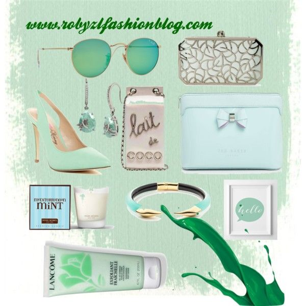 Milk and Mint by robertazl on Polyvore featuring moda, Penny Loves Kenny, La Regale, Alexis Bittar, Betsey Johnson, Ray-Ban, Lancôme, Ted Baker, Henri Bendel and Poste