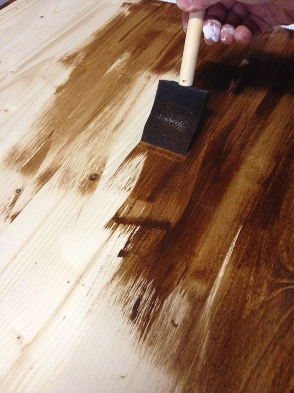 Ok  raise your hand if the thought of staining unfinished wood makes you a  little. 25  unique Staining wood furniture ideas on Pinterest   Wood stain