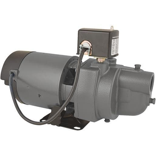 Star Water 3/4Hp Shlw Well Jet Pump ES07S Unit: Each, Brown copper