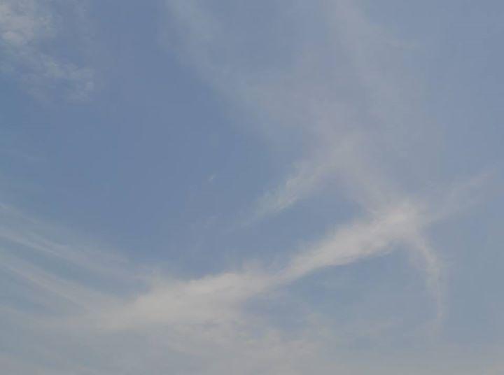 Cloud's Shape like SWORD.... #advertbaba    #photography
