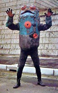 "Toad Boiler (ガマボイラー) from ""Kamen Rider V3"" 1973"