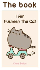 Pusheen the cat--simple silly stories for pic description/ez narrative