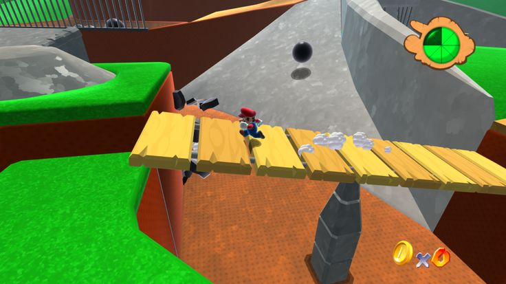 A High-Definition Remake of the First Level of 'Super Mario 64′