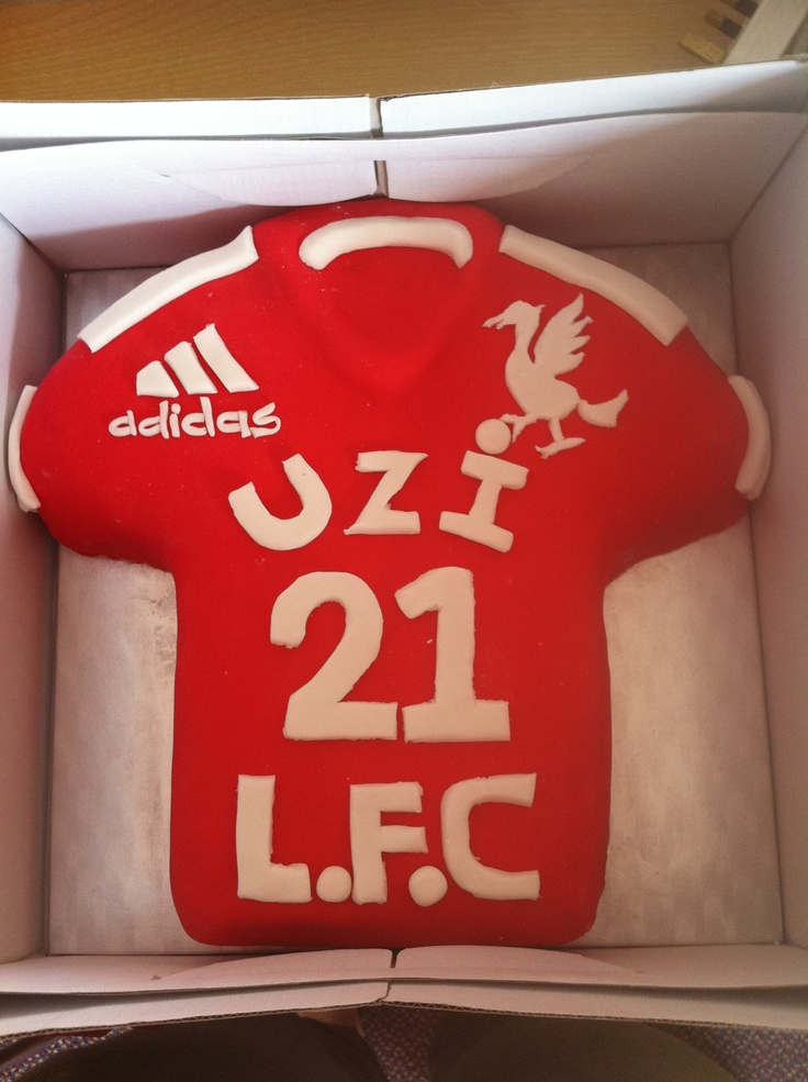 Cake Decorating Football Shirt : 1000+ images about 13 Liverpool cake on Pinterest ...