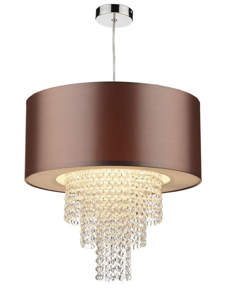 The 25 best non electricaleasy fit pendant shades images on dar lighting lopez non electric ceiling fitting with gold faux silk shade mozeypictures Image collections