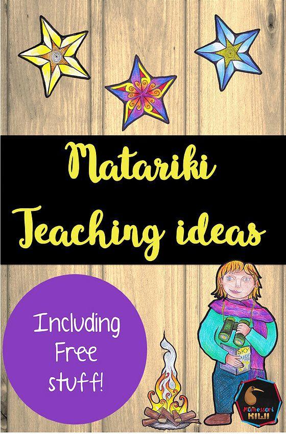 Montessorikiwi: Downloadable Montessori teaching resources | Matariki