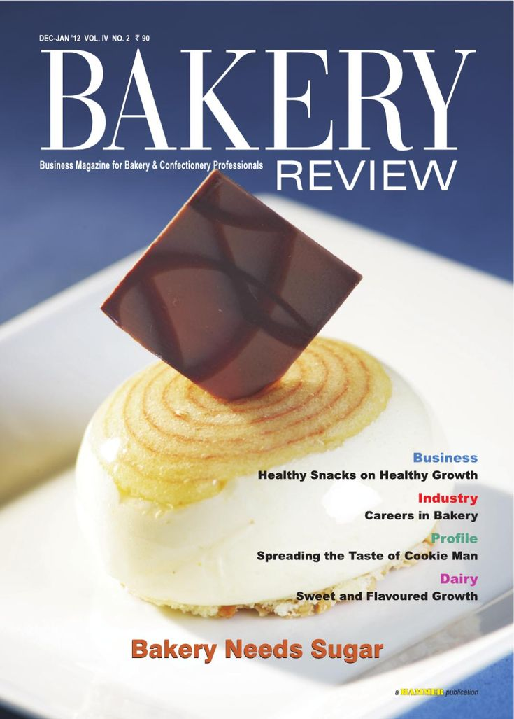Bakery Review  (Dec-Jan 2012) Business Magazine for Bakery & Confectionery Professionals