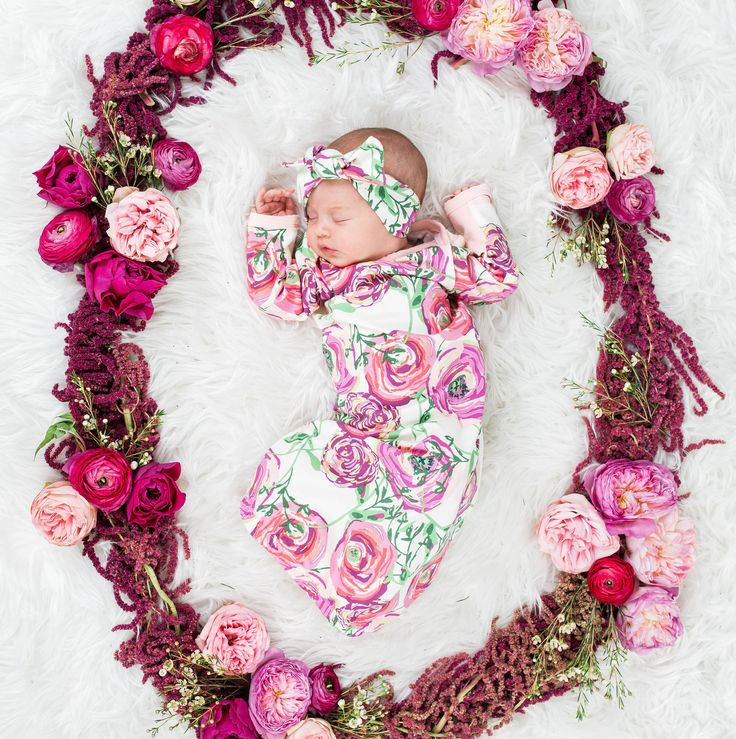 Beautiful coming home outfit for a baby girl!