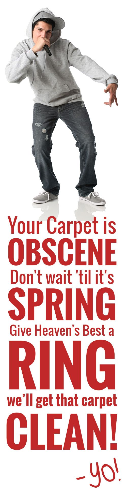 Call the experts at Heaven's Best to clean those carpet and floors. 406-837-5550
