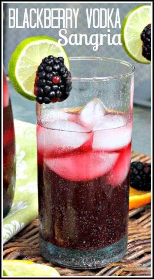 Blackberry Vodka Sangria Recipe | SnappyGourmet