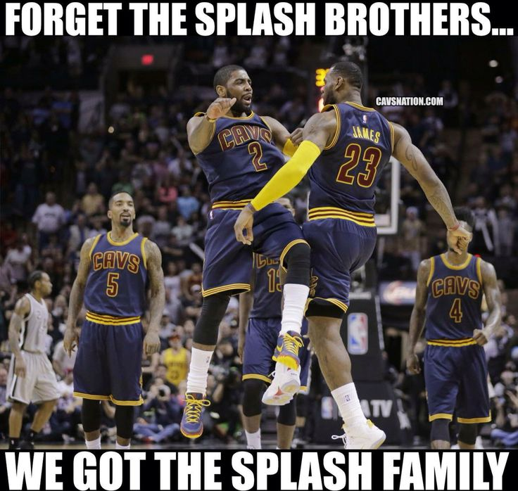 Those Cavs though!