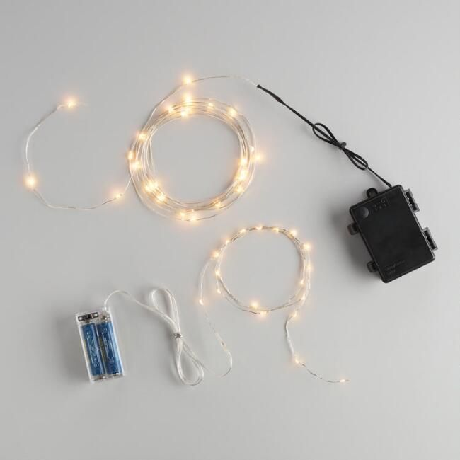 Micro LED Battery Operated String Lights - v1